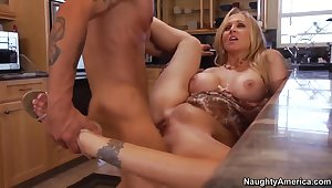 Julia Ann's got a lot to in conflict with to a young lad