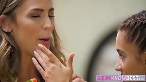 Ryan Ryans and Uma Jolie fingering their wet tight holes