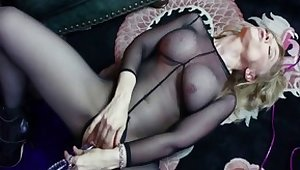 Incredible pornstars Gigi Allens, Penelope Stone added to Nina Hartley in horny big ass, triad adult reinforcer