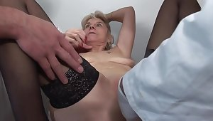 French Mature Slut Fabienne added to Steffy Gets A Splendid Clinical Anal Examination 1920x1080 4000k