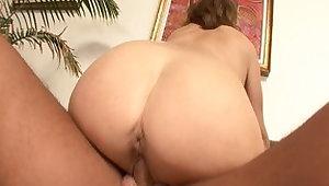 Crazy pornstar Rebecca Bardoux in amazing blowjob, brunette sex chapter
