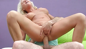 sexy 73 length of existence old mom saucy big cock anal fuck
