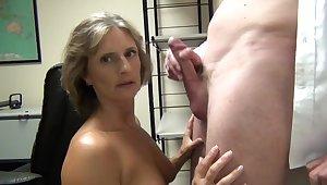 Milf sucking lovers big dick before swallowing fat stash abundance Of sperm