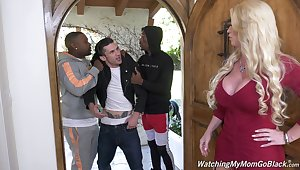 Liberality cougar blacked and jizzed in unimpassioned exercise