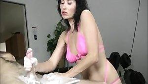 Amateur video of tainted Tatiana stroking his large manhood