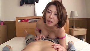 Flawless Japanese POV for mommy