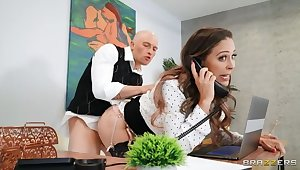 BRAZZERS: Working Of Hot MILF Cherie Deville on PornHD